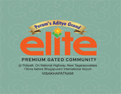 Aditya Elite Plots in tagarapuvalasa Vizag