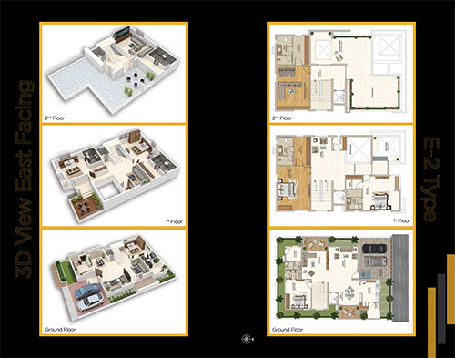 Boulevard floorplan 4024sqft east facing