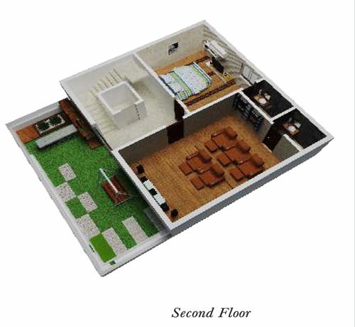 Golden Crest floorplan 3340sqft west facing