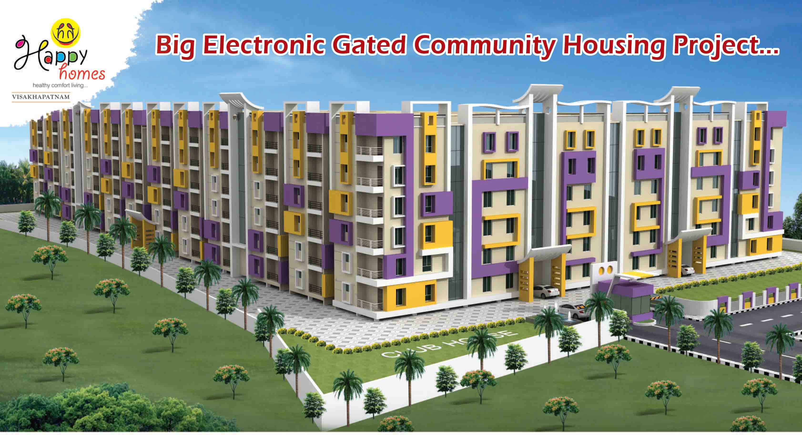 apartments for Sale in , vizag-real estate in vizag-happy homes