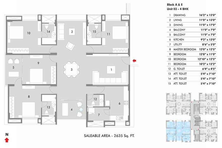 Hillcrest floorplan 2635sqft west facing