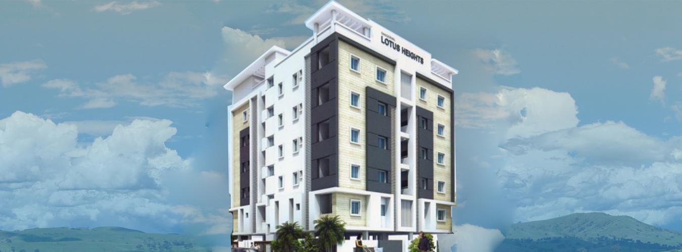 apartments for sale in lotus heightskommadi,vizag - real estate in kommadi
