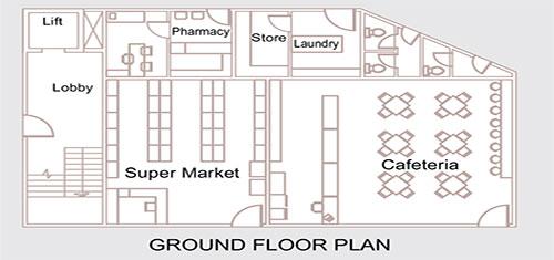 Lotus Homes floorplan 461sqft west facing