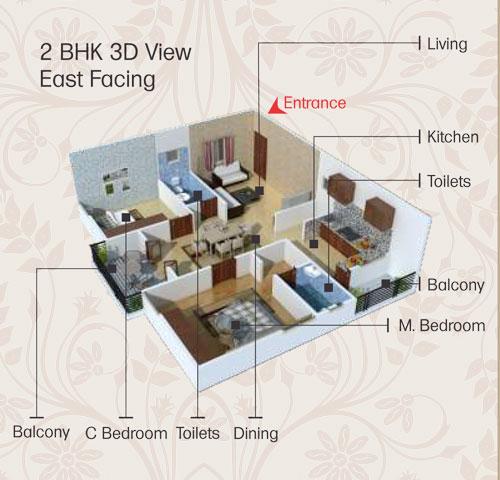 Sai keerthi estates floorplan 3,599sqft west facing
