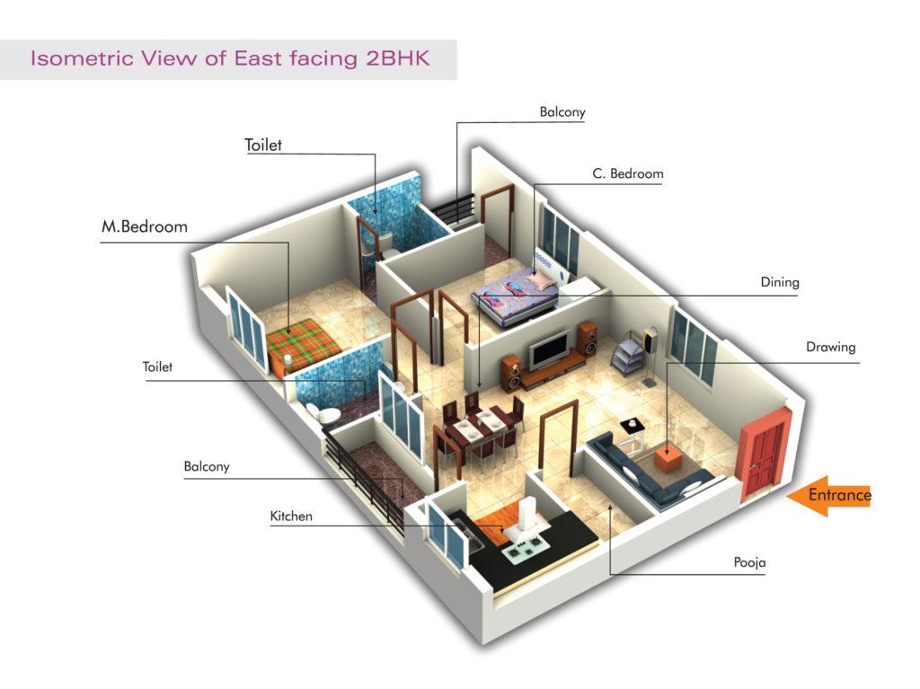 Sai keerthi estates floorplan 3,599sqft east facing