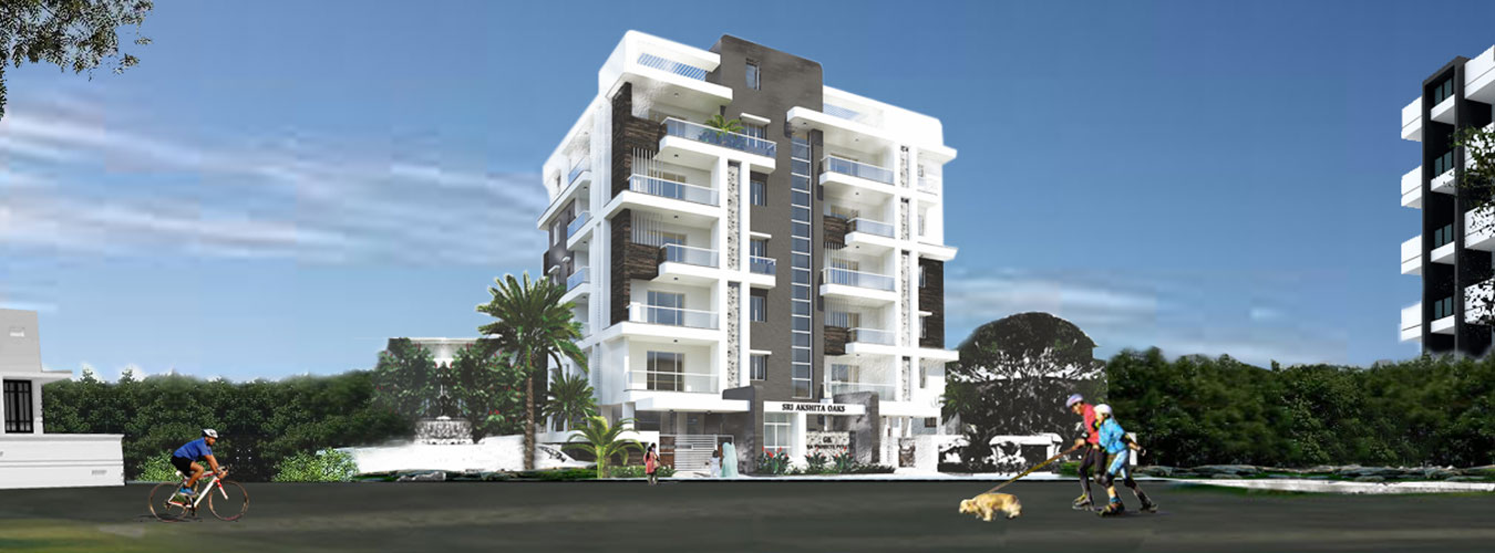 apartments for sale in sri akshita oaksgunadala,vijayawada - real estate in gunadala