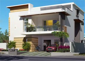 villas for Sale in kismatpur, hyderabad-real estate in hyderabad-triumph villas