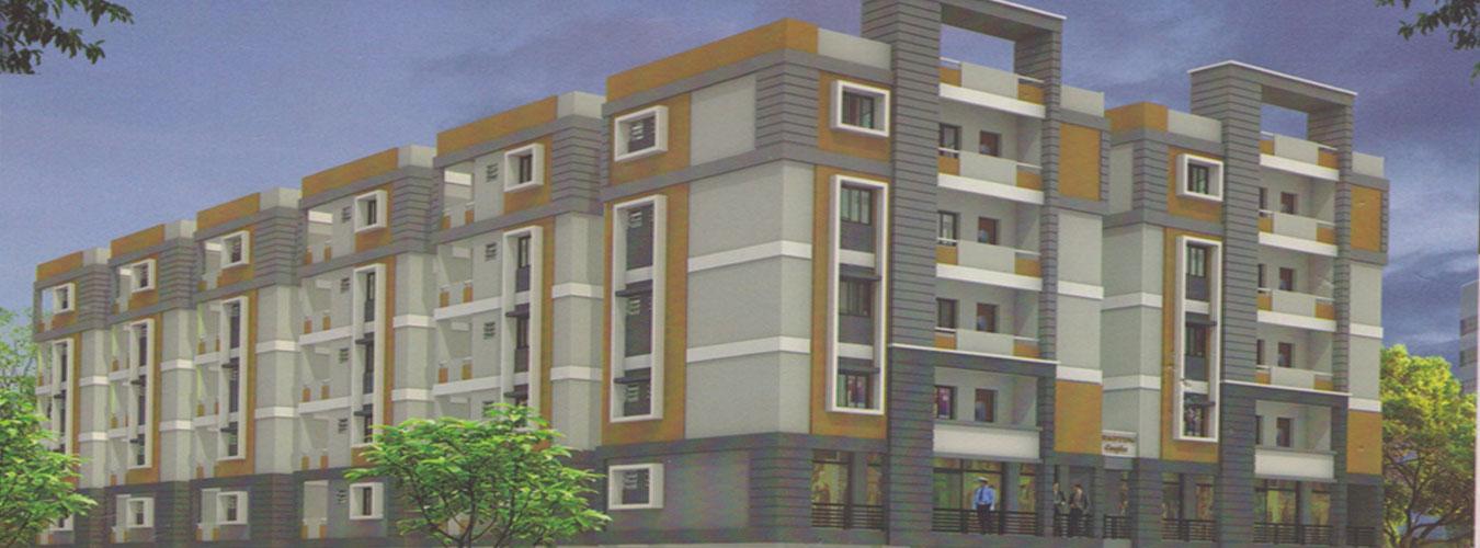 apartments for sale in vaibhava grandlankela palem,vizag - real estate in lankela palem