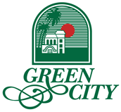 Green city Estates logo hyderabad logo