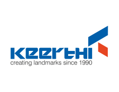 KEERTHI ESTATES logo hyderabad logo