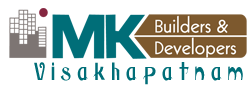 MK Builders and Developers logo vizag logo