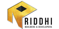 Riddhi Builders & Developers logo hyderabad logo