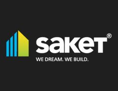 Saket Group logo hyderabad logo