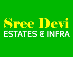 Sree devi estates and infra logo vizag logo