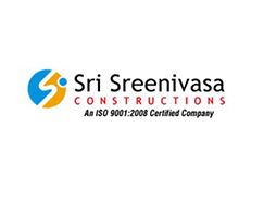 Sri Sreenivasa construction logo hyderabad logo