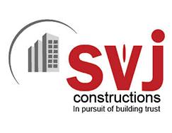 Sri Viswa Jaitri Constructions logo vijayawada logo