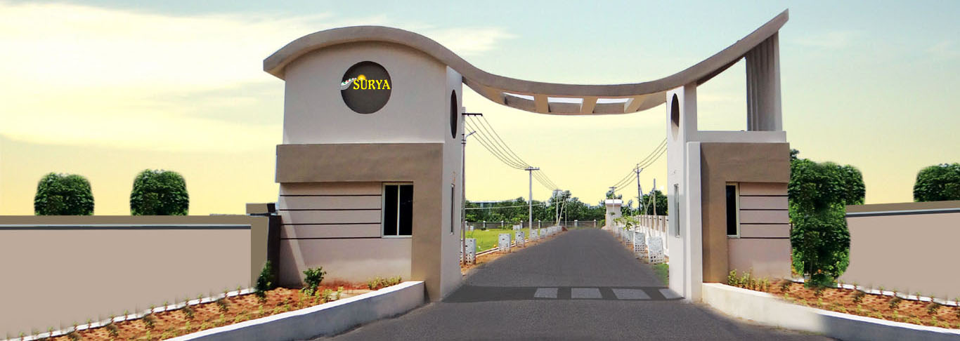 Surya Real Estates and Developers vizag banner