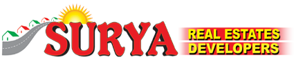 Surya Real Estates and Developers logo vizag logo