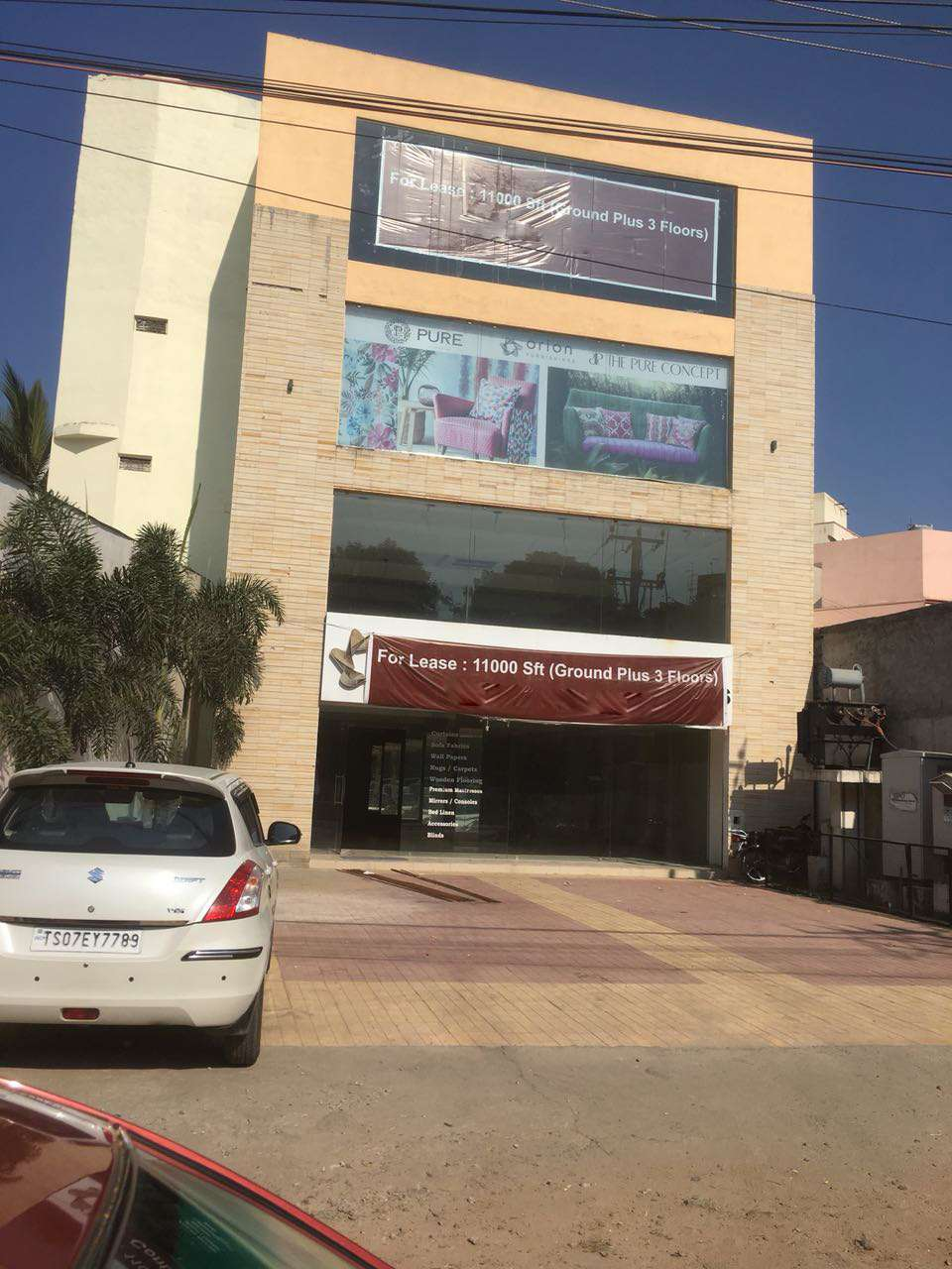 Shop Space for Lease / Rent in Gachibowli Hyderabad